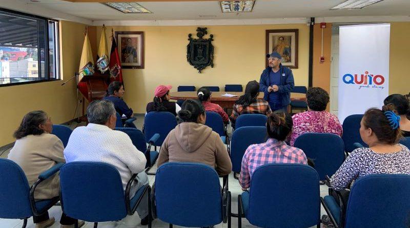 Capacitaciones en manipulación de alimentos en la Zona Eloy Alfaro