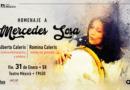 Homenaje a Mercedes Sosa en el Teatro México
