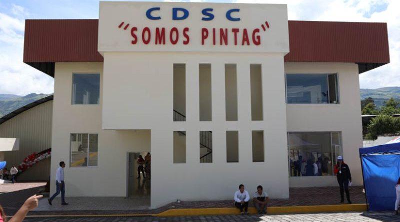 Píntag estrena nuevo Centro Cultural y Deportivo