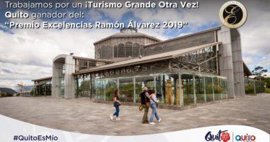 Quito recibió el Premio Excelencias Ramón Álvarez en la primera edición de FITUR MICE