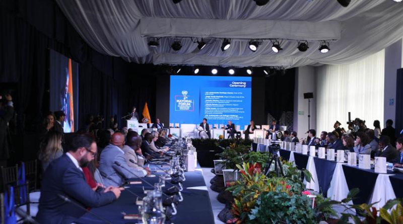 Alcalde de Quito participó en VI Foro de alcaldes sobre Movilidad Humana, Migración y Desarrollo