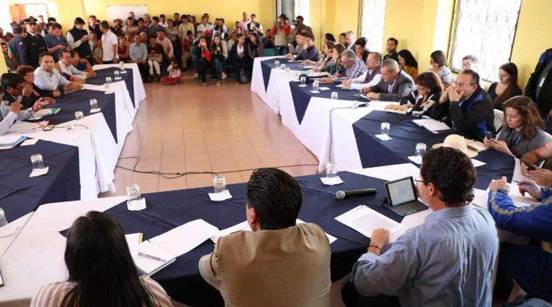Gabinete Municipal conoció las necesidades de San Miguel del Común