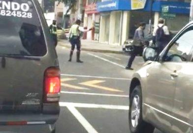AMT investiga incidente entre ciudadano y un ACT