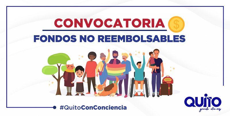 CONVOCATORIA FONDOS NO REEMBOLSABLES