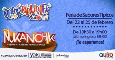 Feria gastronómica y de emprendimientos comunitarios en el Yaku