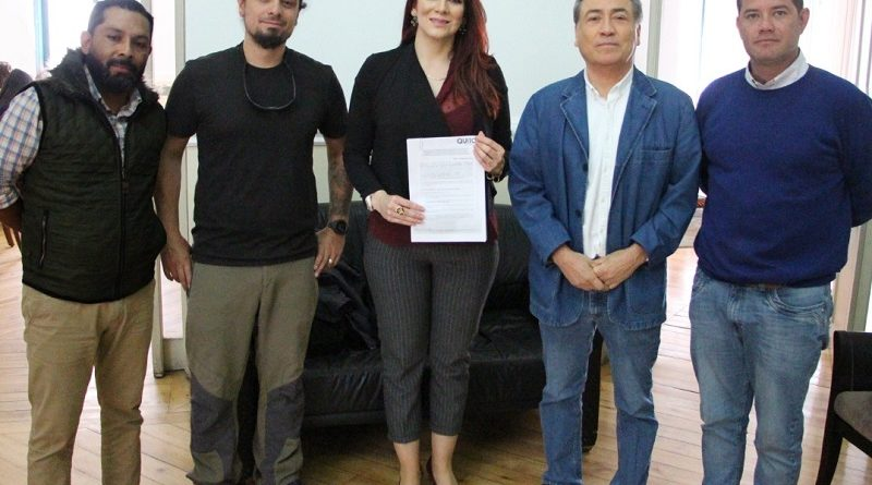 Firma convenio con Fundación Cóndor Andino