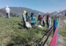 Jóvenes aprenden buenas prácticas ambientales en Calderón