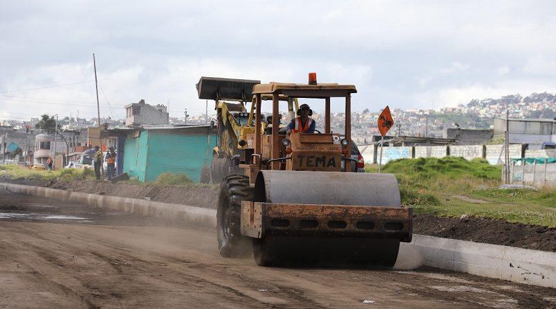 Pavimentación Quitumbe Ñan