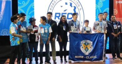 Colegio Marie Clarac, campeón del VEX Robotics Challenge Squared Away
