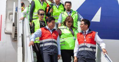 Visita Alcalde Aeropuerto
