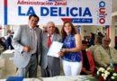 Barrios de La Delicia continúan recibiendo obras