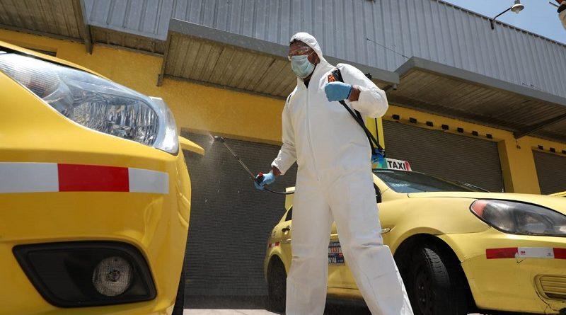Desinfección unidades de transporte comercial