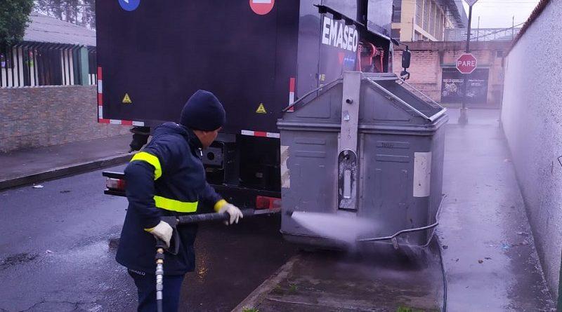 Emaseo EP garantiza recolección de residuos sólidos