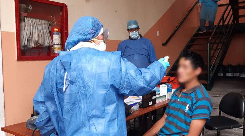 Personas habitantes de calle reciben atención médica
