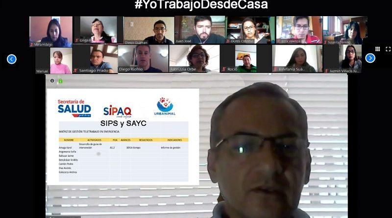Secretaría de Salud operativa vía Teletrabajo