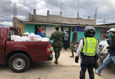 La AMT participa en la entrega de kits de alimentos