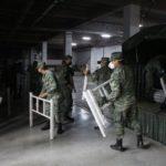 370 camas donadas para el Centro de Aislamiento Temporal de Quito