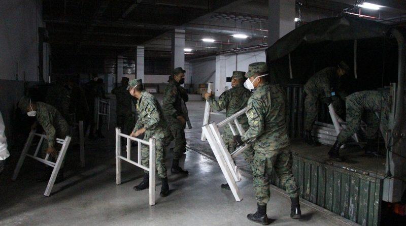 370 camas donadas por el MSP