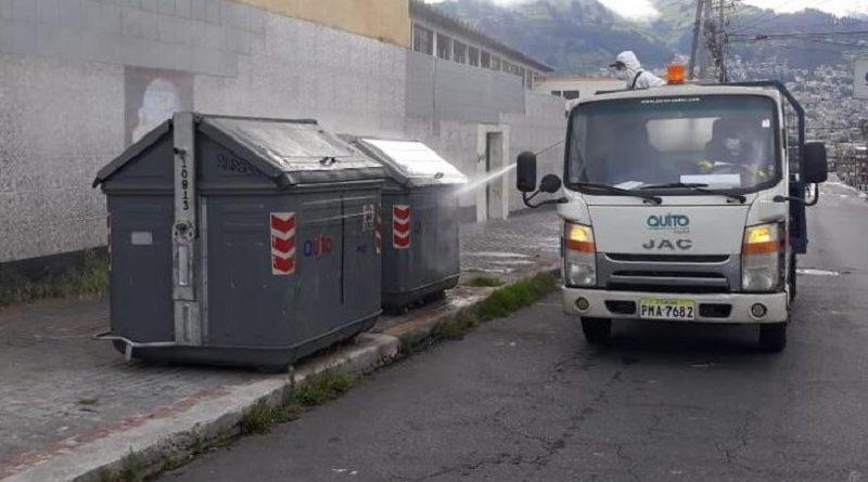 Emaseo sanitización en Quito