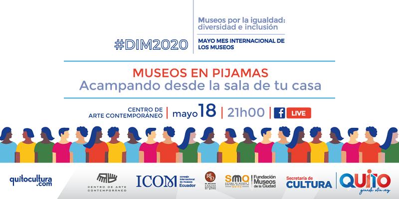 Museos en pijamas, tres retos por el Día Internacional de los Museos
