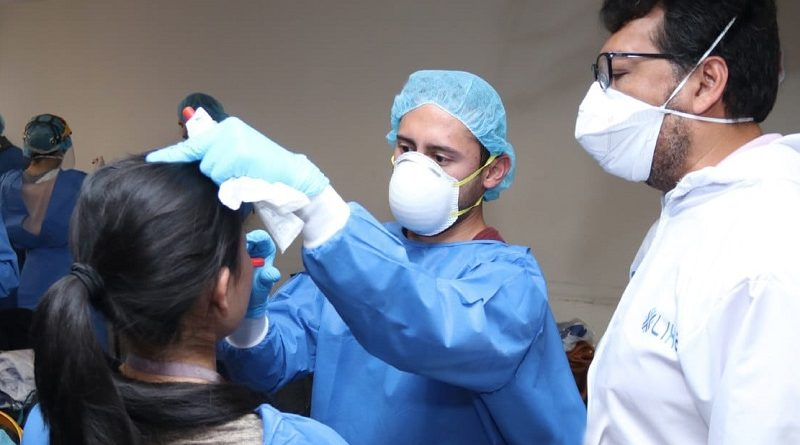 Capacitación para realizar pruebas PCR a personal salud municipal