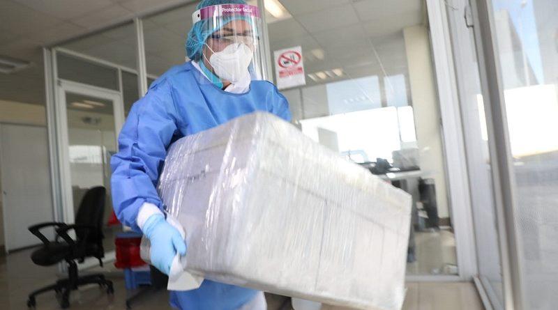 Proceso de pruebas PCR por parte de la UCE