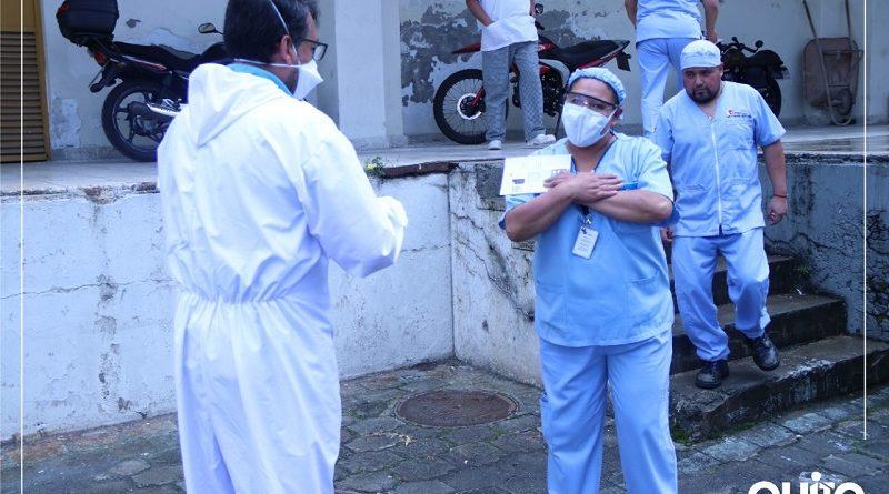 Reconocimiento a personal sanitario