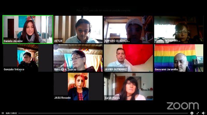 Conversatorio virtual Diversidad Sexo Genérica