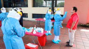 Estrategias toma y proceso pruebas PCR