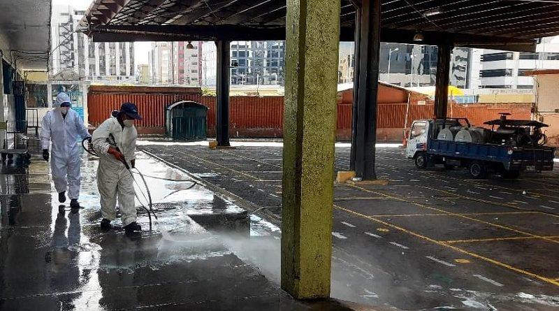 Hidrolavado en Mercados