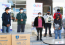 Empresa privada entrega ayuda a recicladores de base