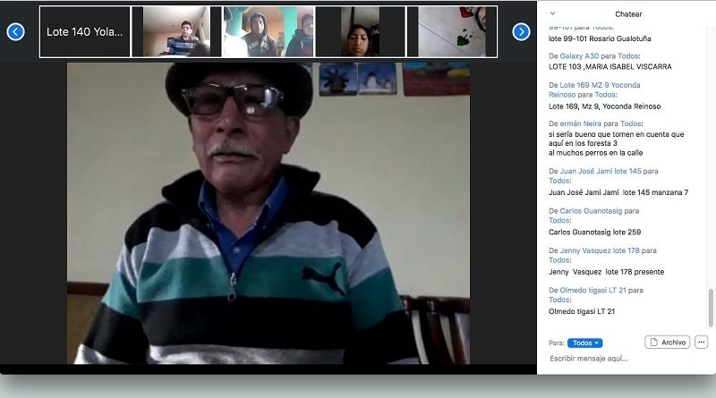 Conversatorio virtual cuidado fauna urbana