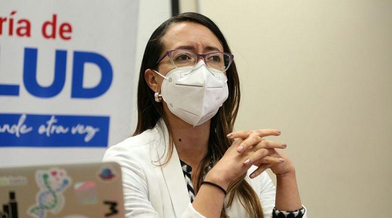 Linda Guamán Asesora Secretaría de Salud