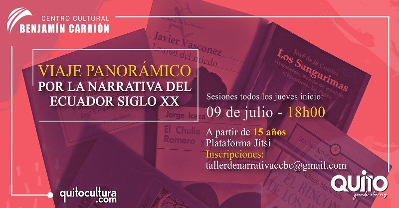 TALLERES JULIO LITERATURA ECUATORIANA