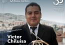 Nuestros músicos: Víctor Chiluisa considera importante rescatar el patrimonio sonoro