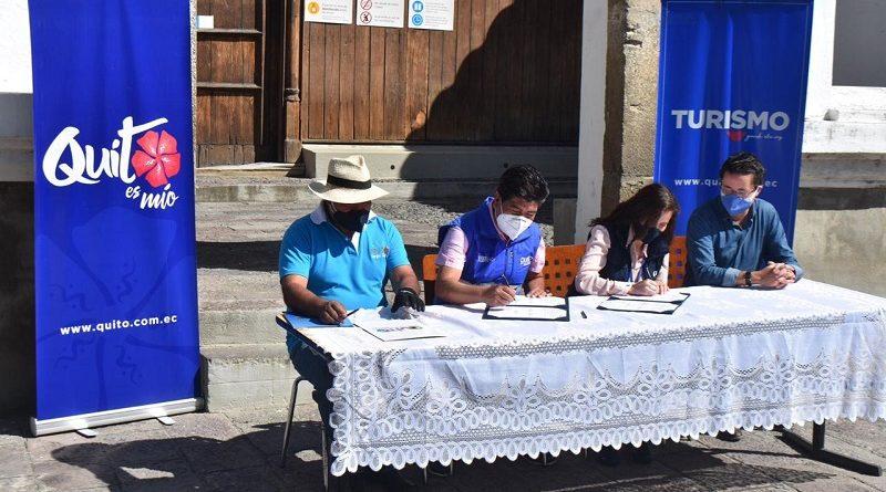 Alcalde de Quito visitó parroquias rurales para inaugurar obras