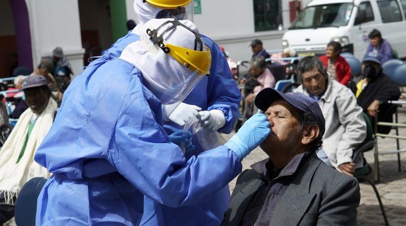 Pruebas para detección de covid-19 en Quito
