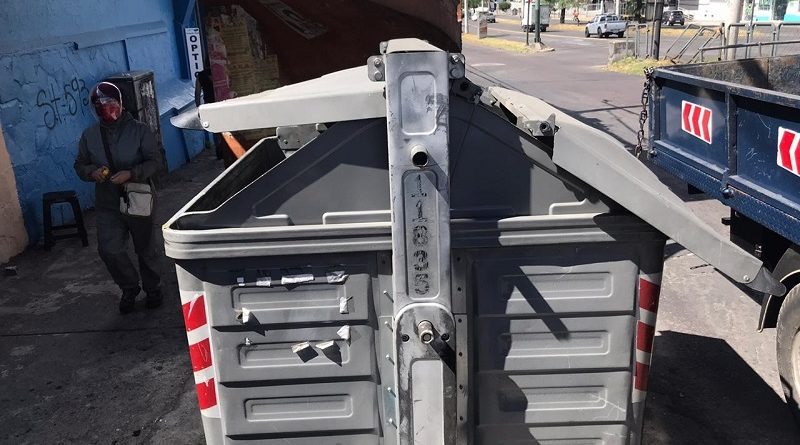 Daños en contenedores