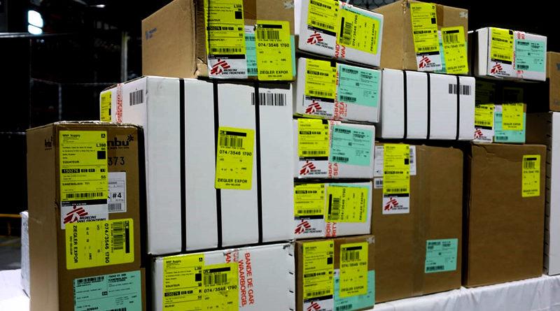 MSF donó insumos médicos a MDMQ