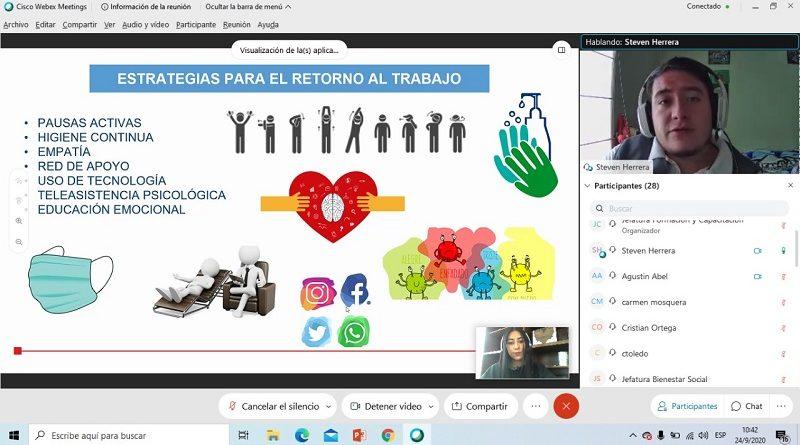 SIPAQ brinda jornadas para ámbitos laborales