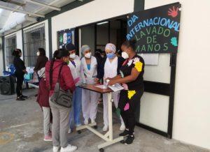 UMSN celebró con usuarios día mundial del lavado de manos