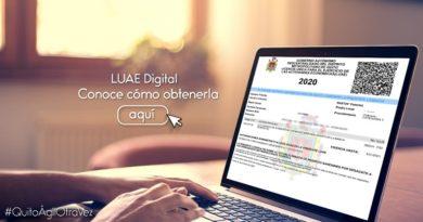 LUAE será digital