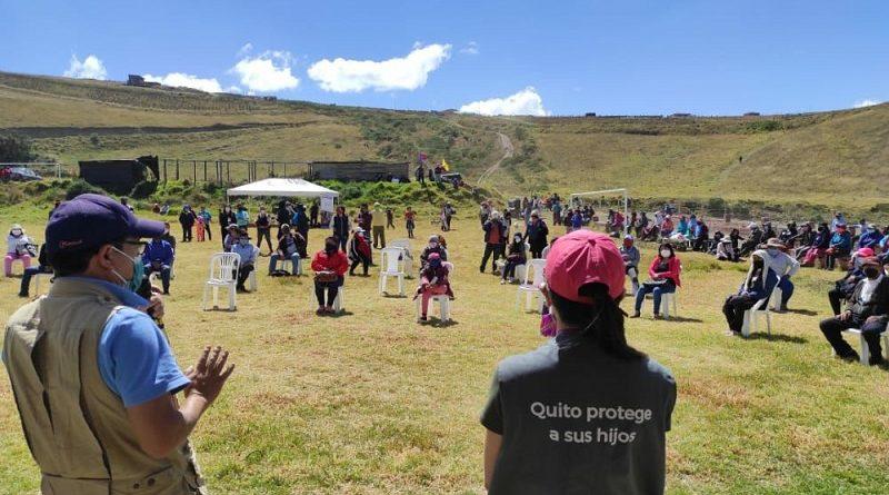 SIPAQ y campaña Quito Sale Seguro