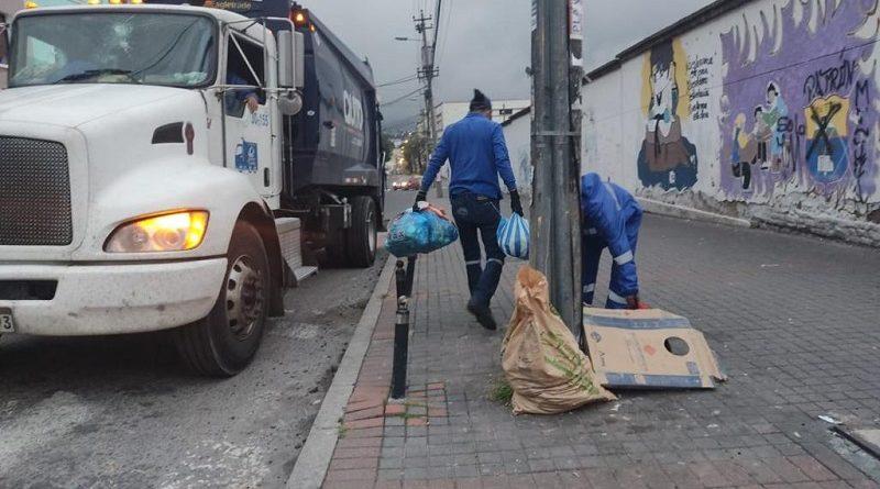 Residuos sólidos recogidos 2020
