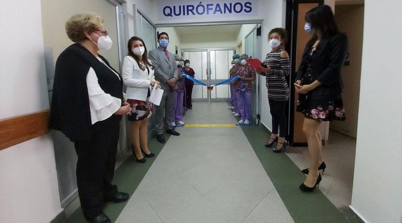 UMSN reaperturó quirófanos