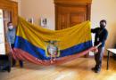 Se restaurará bandera del Ecuador que estaba en el Santuario de Zaragoza