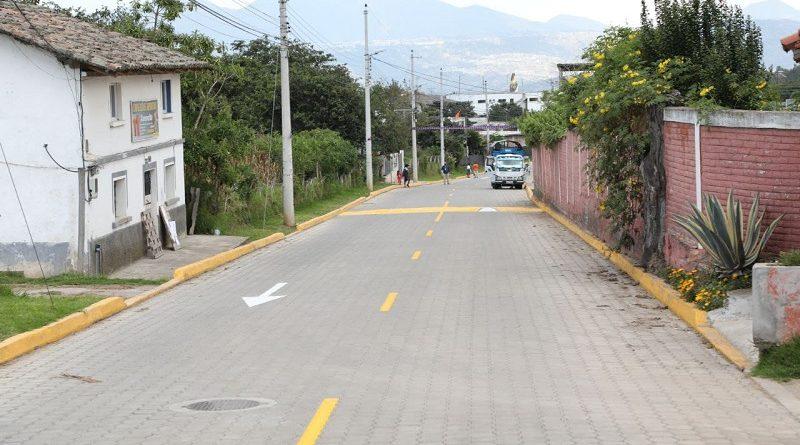Obras Yaruquí y Tababela calle 19 de marzo