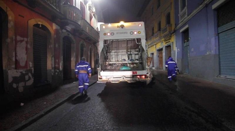 Recuperación calle Imbabura