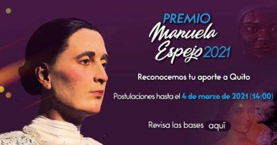 Abierta la convocatoria para participar en el premio Manuela Espejo