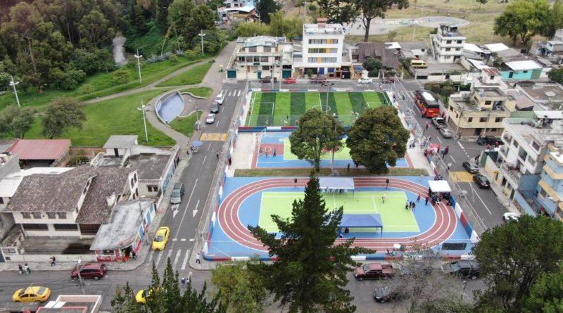 Municipio entregó 4 canchas deportivas en La Ferroviaria y La Magdalena